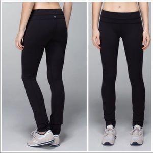 lululemon athletica Pants - Lululemon Black Skinny Groove Pants